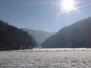 Wasserfälle Bad Urach im Winter